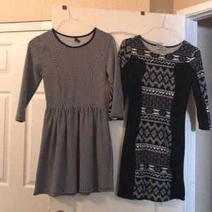 Dresses & Skirts - Black & white Dresses